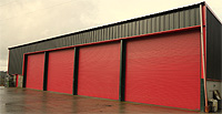 We manufacture Steel Frame Buildings in Wales
